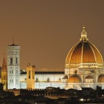 The stunning Santa Maria del Fiore Church in Florence